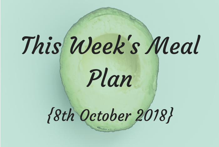Meal plan header