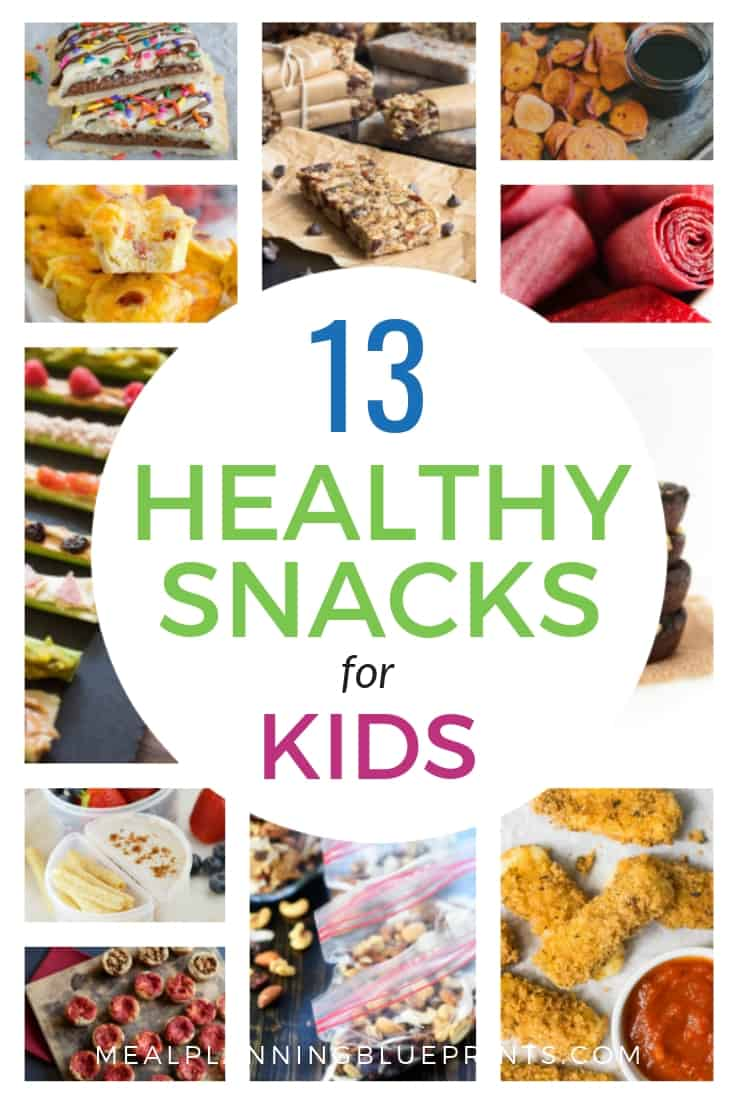 13 Healthy Homemade Snacks for kids
