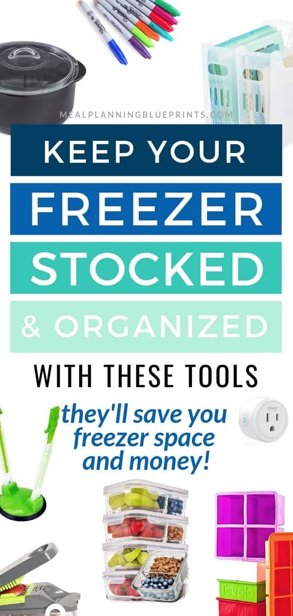 Keep your freezer stocked organized tools