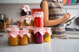 One of the most cost-efficient ways to build a pantry stockpile is to can your own produce, sauces, jams, and jellies. Canning is a method of food preservation that can seem intimidating but really isn't all that hard. Click through to learn how you can get started with canning today!