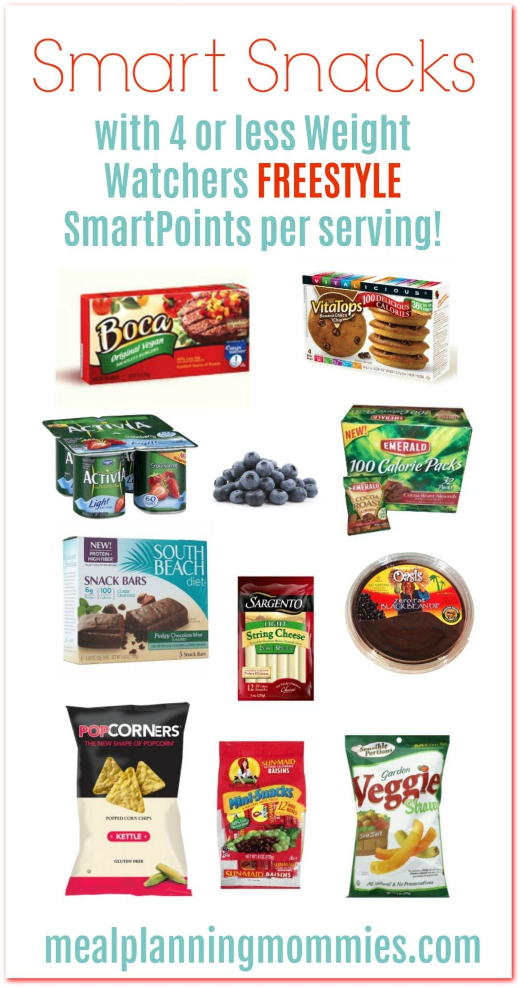 graphic about Weight Watchers Freestyle Food List Printable called Fat Watchers Freestyle Intelligent Treats with WW SmartPoints