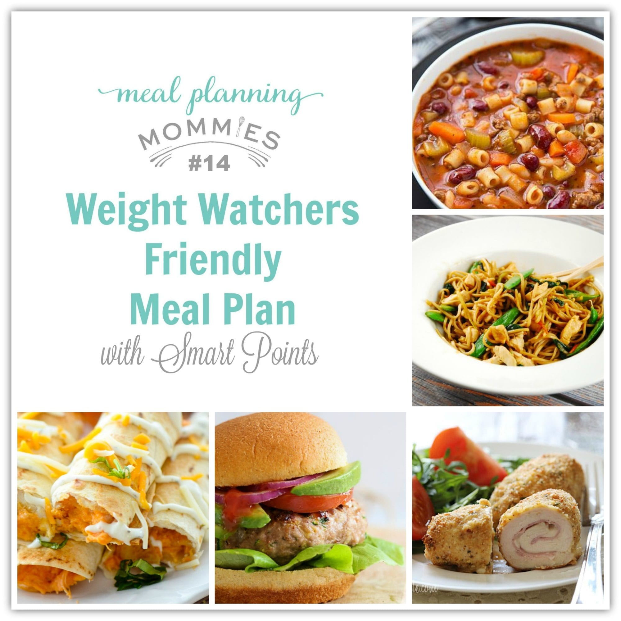 Weight Watcher Friendly Meal Plan With Smart Points 14