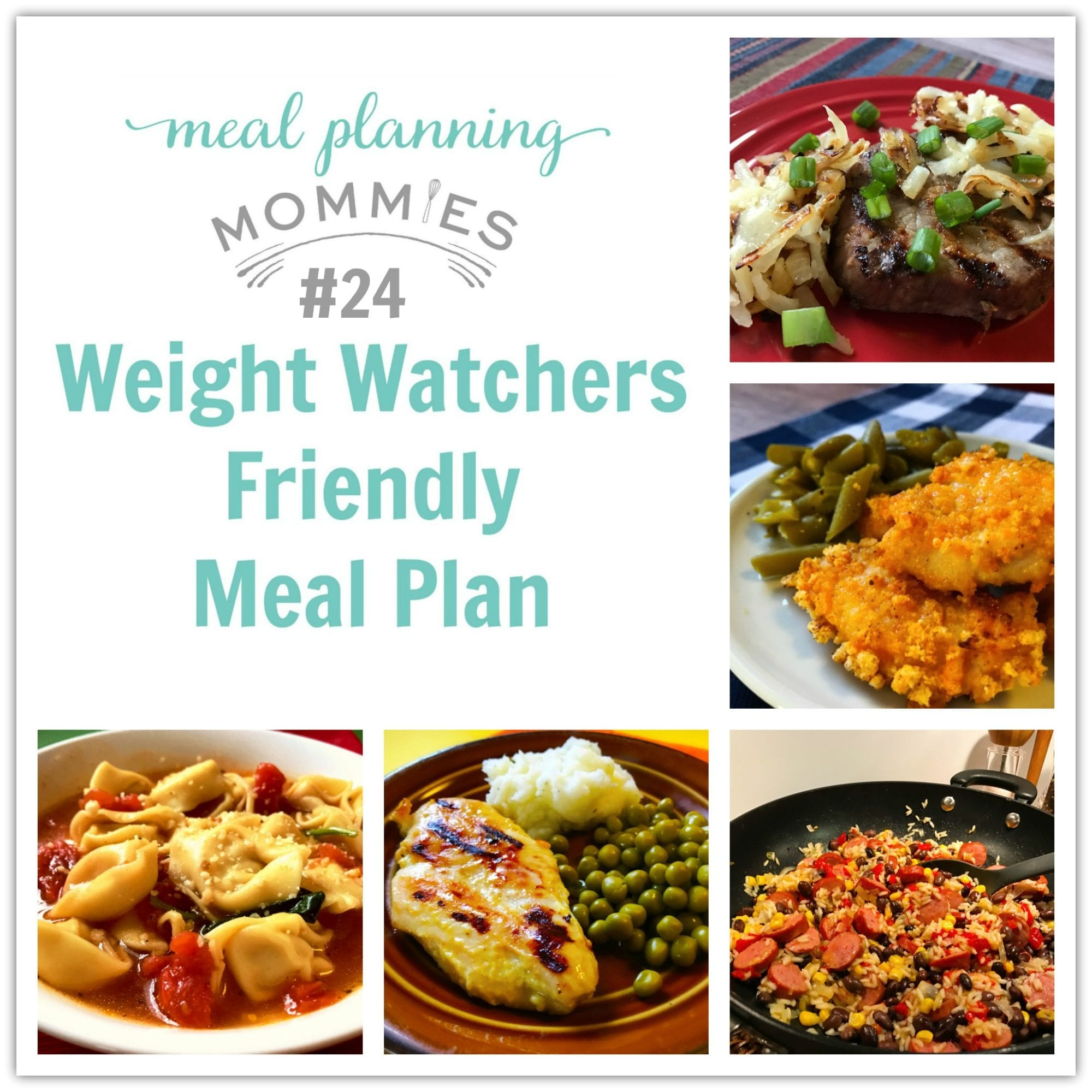 Weight Watchers Friendly Meal Plan 24 With Freestyle