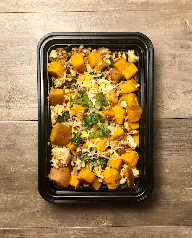 Sweet Potato Turkey Skillet