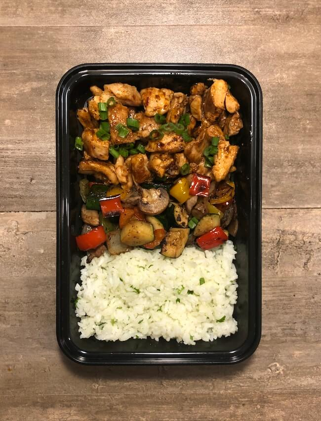 Chipotle BBQ Chicken with Cilantro Lime Rice