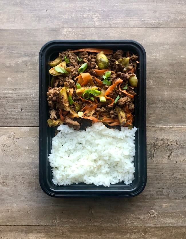 Read more about the article Sticky Beef and Brussels