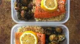 Simple Salmon Meal Prep