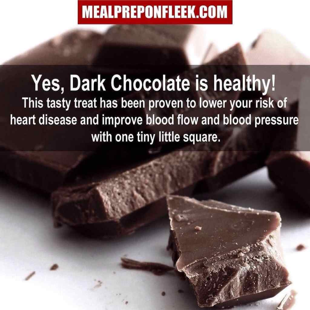dark chocolate nutrition tip
