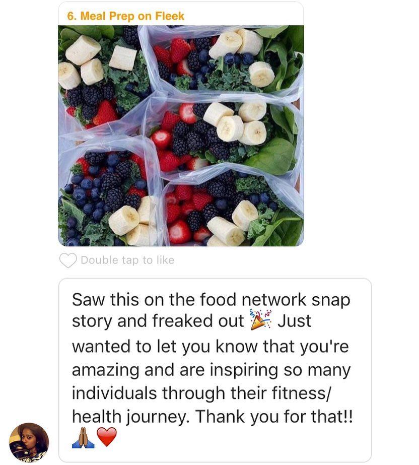 meal prep on fleek food network