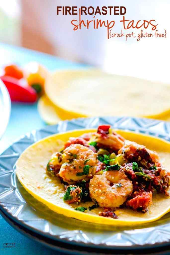 fire roasted slow cooker shrimp tacos