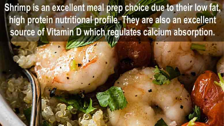 health benefits of shrimp
