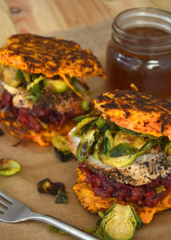Paleo Thanksgiving Leftover Sandwich