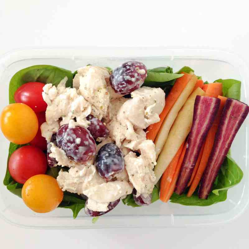 Chicken Salad Meal Prep low carb