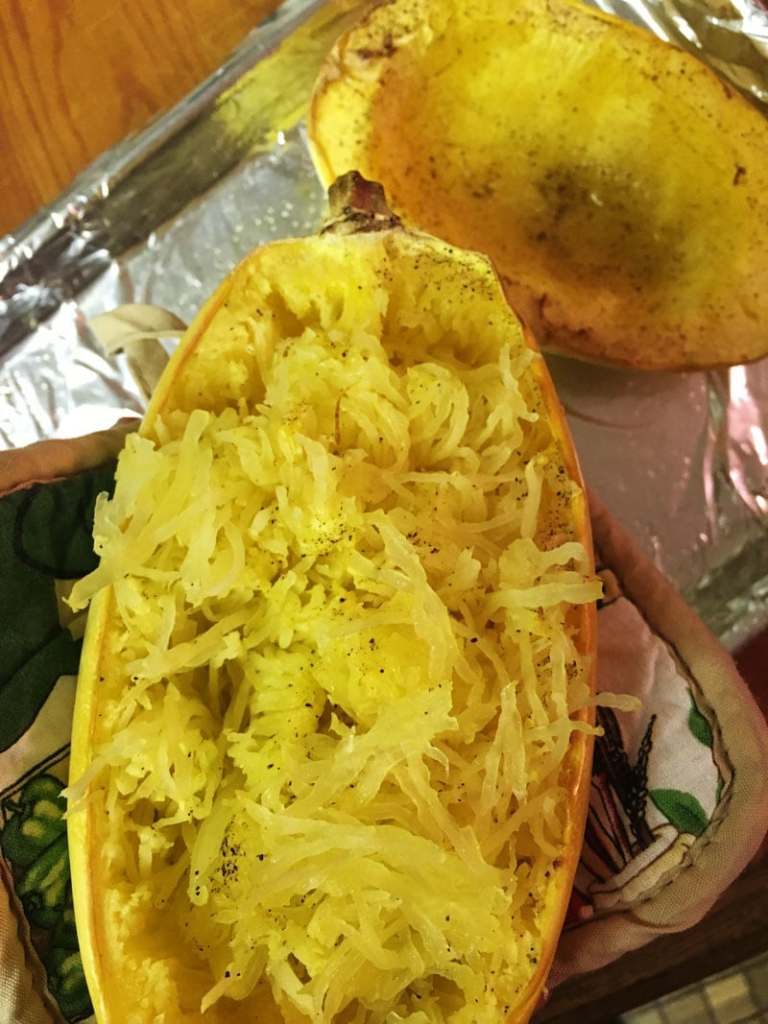 how to cook spaghetti squash step 7