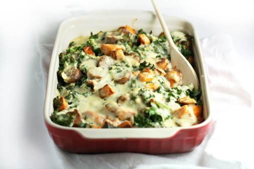 sweet potato bake meal prep