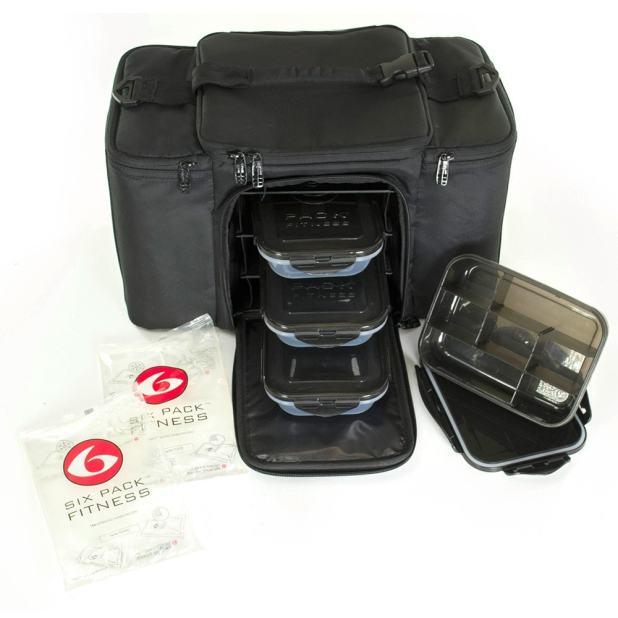 6 Pack Fitness Meal Prep Bag