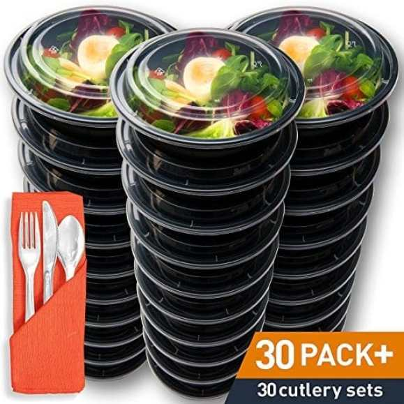 round food storage containers