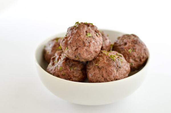 20 Minute Meatballs