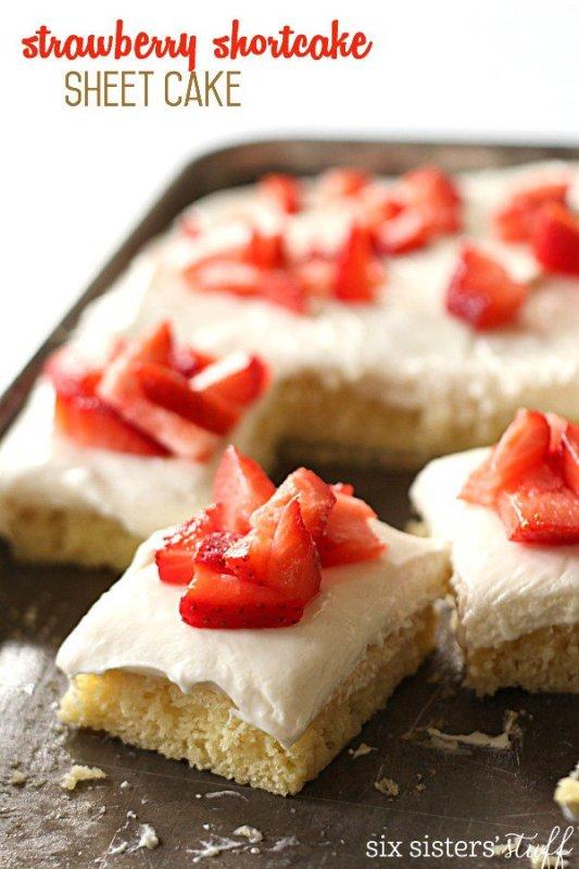 sheet pan shortcake recipe