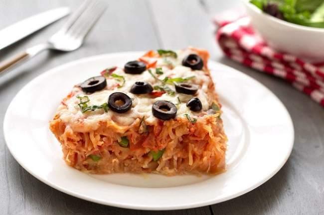 Spaghetti Squash Pizza Pie