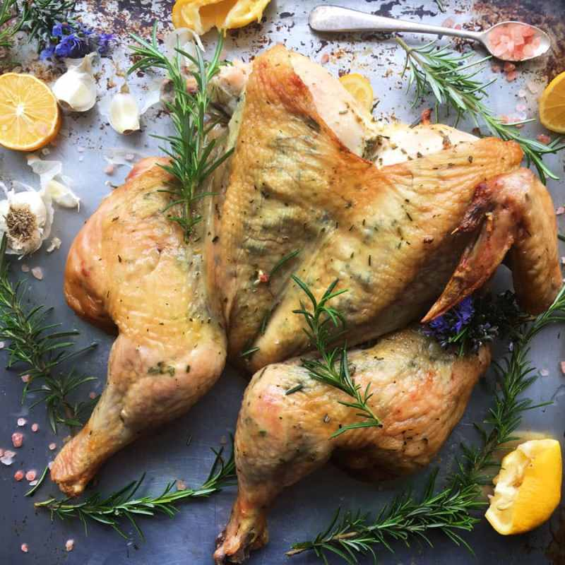 Grilled Rosemary, Lemon, and Garlic Grilled Chicken