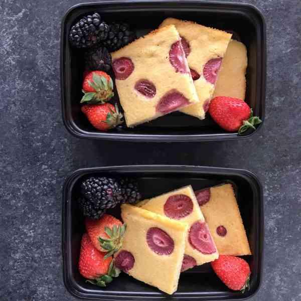 Sheet Pan Paleo Protein Pancakes