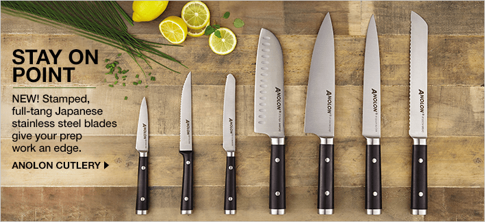 Anolon knife set