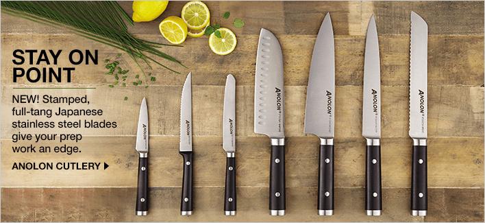 Anolon knife set