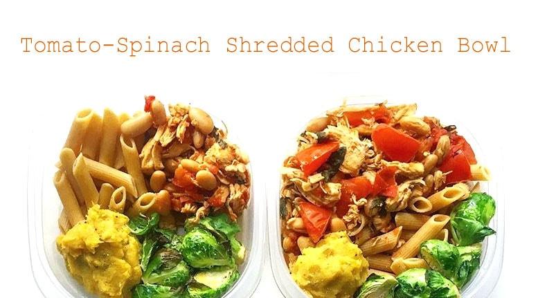 chicken bowl meal prep - meal prep on fleek