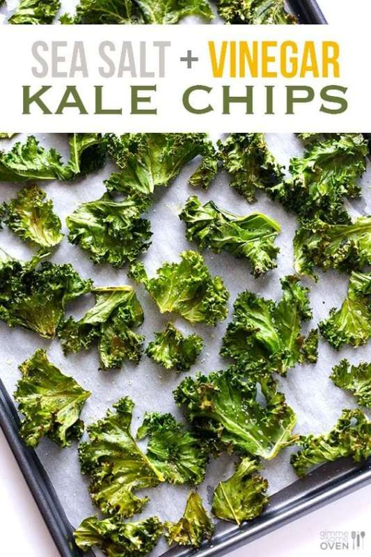 foods that burn fat - kale chips