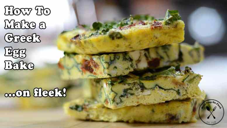 greek egg bake recipe