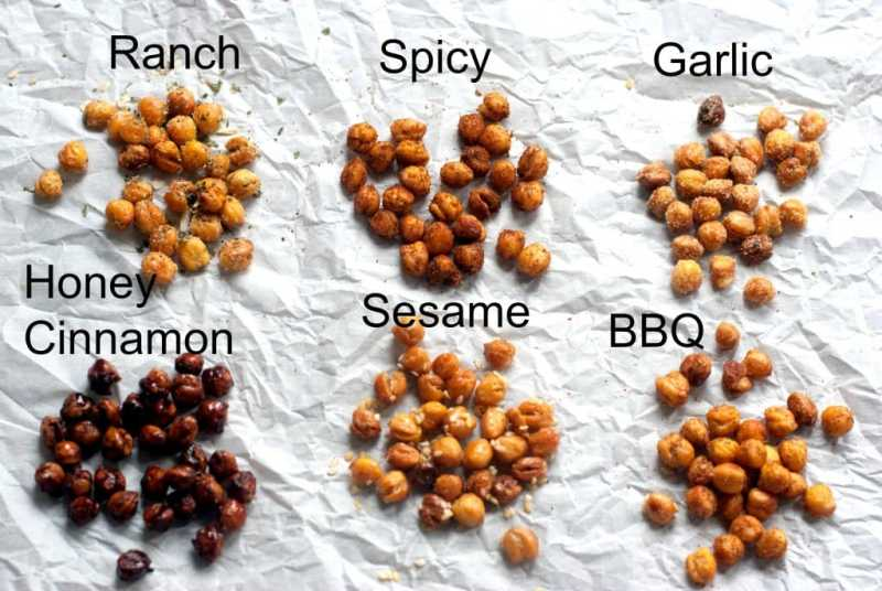 foods that burn fat - roasted chickpeas