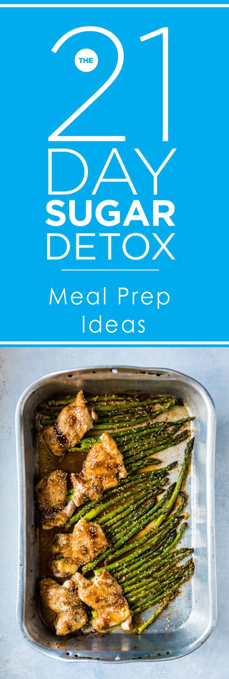 21 Day Sugar Detox Meal Prep Ideas Pinterest