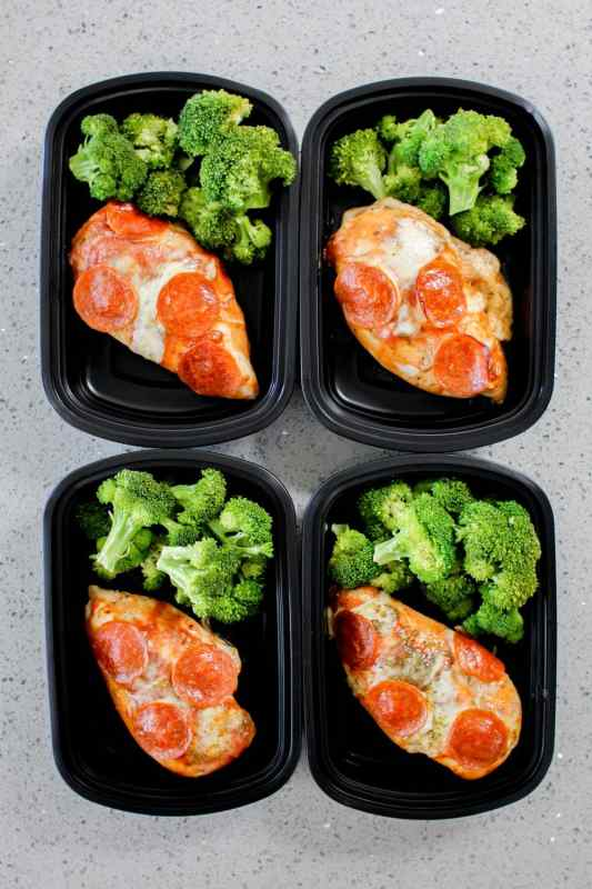 Pizza Chicken Meal Prep
