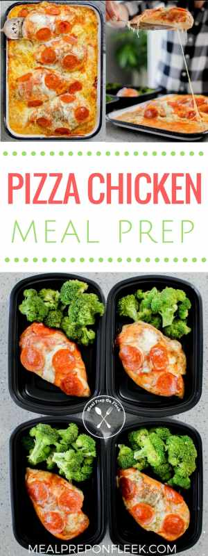 Pizza Chicken Meal Prep Recipe
