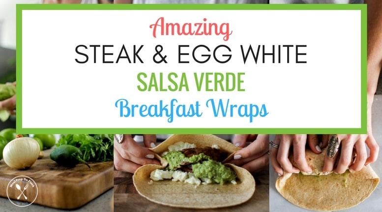 Steak & Egg White Salsa Verde Breakfast Meal Prep Recipe