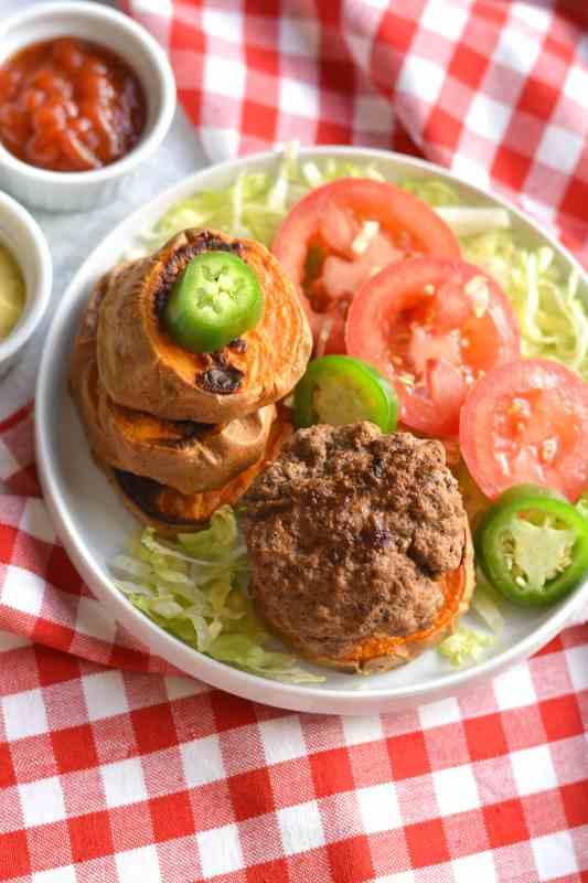 Paleo Jalapeno Burger