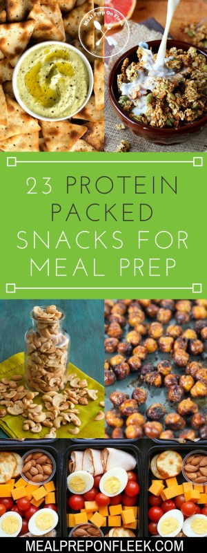 Meal Prep Snack Ideas