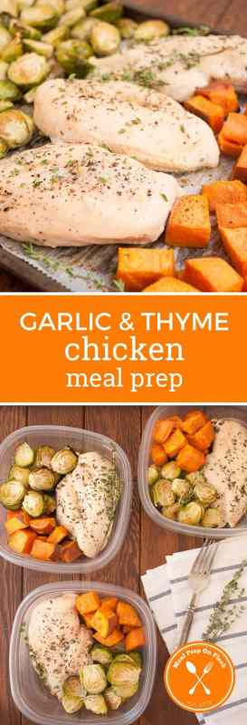 Garlic & Thyme Chicken Meal Prep Recipe