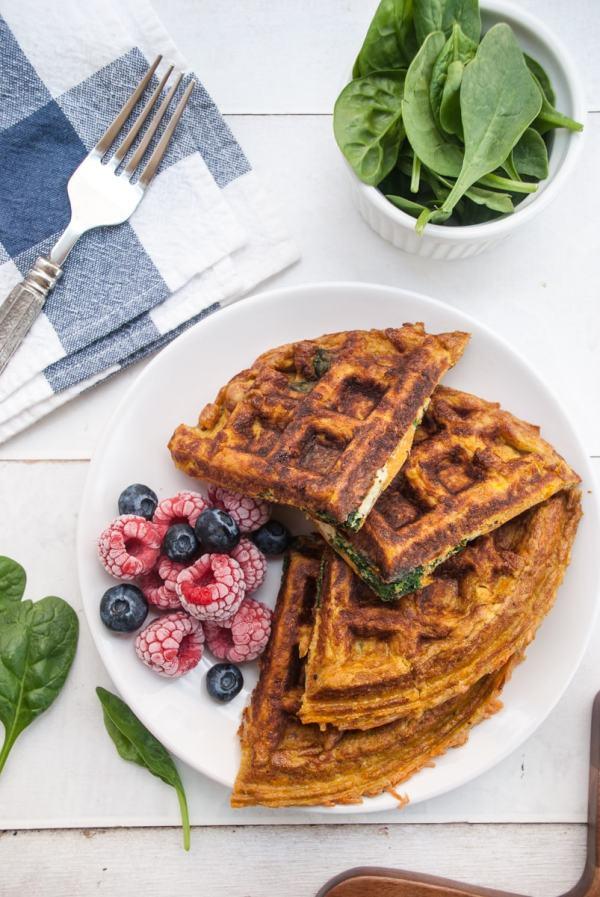 Sweet Potato Waffle Meal Prep - Meal Prep on Fleek™