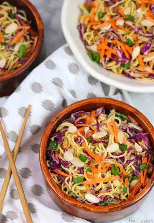 Vegan Ramen Noodle Salad Recipe