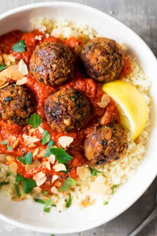 Vegan Morrocan Meatballs - Healthy Vegan Recipes