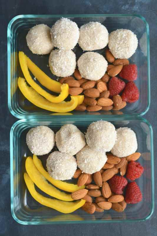 Sugar Free Coconut Balls