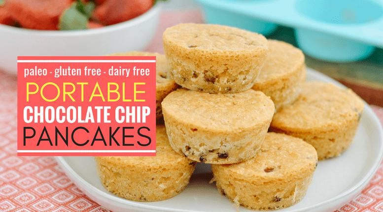 Portable Chocolate Chip Pancakes blog