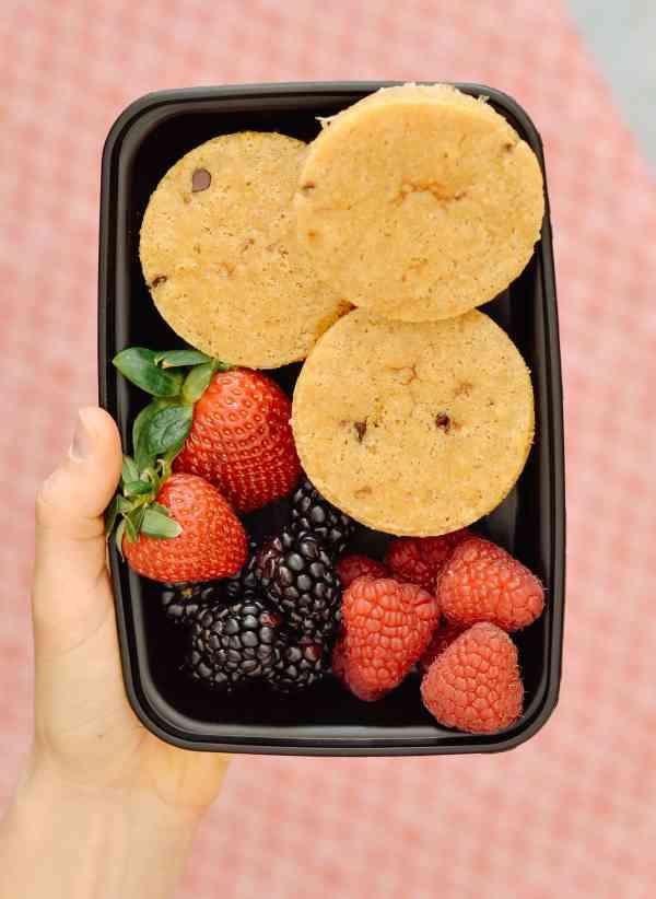 Portable Chocolate Chip Pancakes