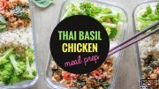 Thai Basil Chicken Meal Prep