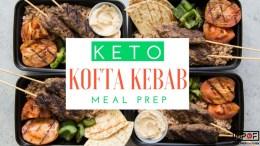 (Keto) Kofta Kebab Meal Prep blog