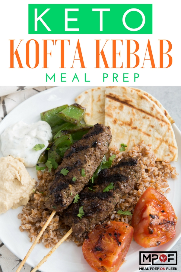 Keto Kebab Meal Prep