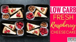 (Low Carb) Fresh Raspberry Cheesecake blog