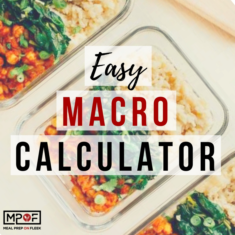 how to calculate my macros